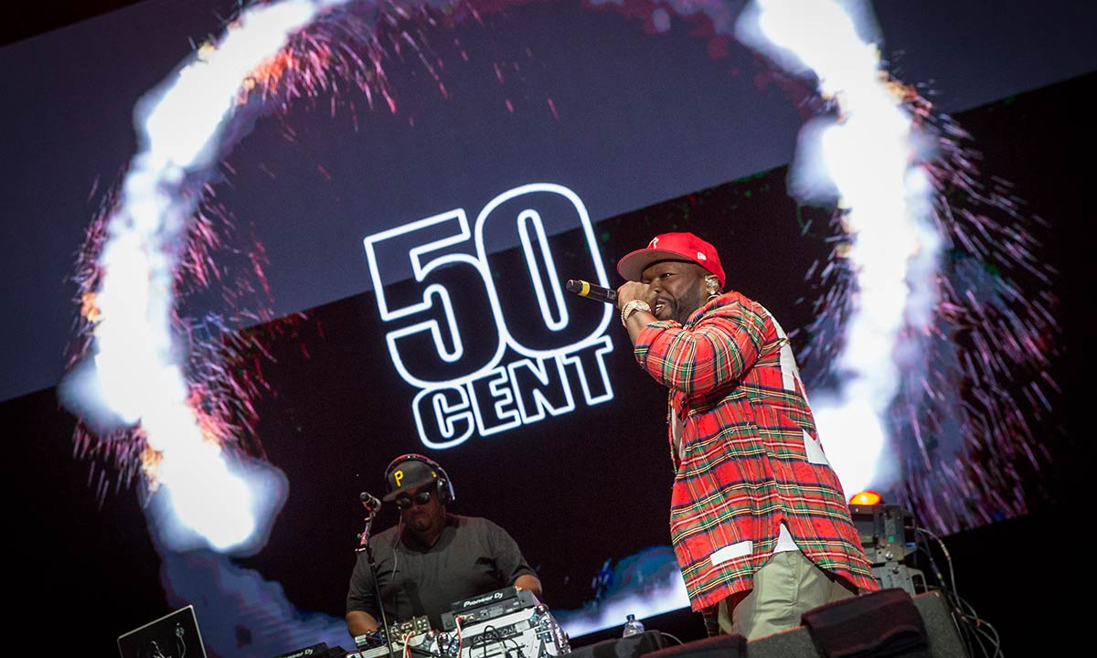50 Cent by Mark Horton