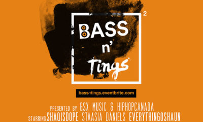 Bass N' Tings II returns Oct. 19 with ShaqIsDope, Staasia Daniels, EverythingOShauN & more