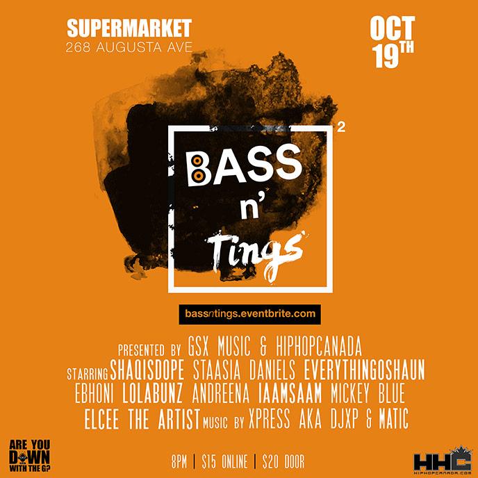 Bass N' Tings II returns Oct. 19 with ShaqIsDope, Staasia Daniels, EverythingOShauN & more