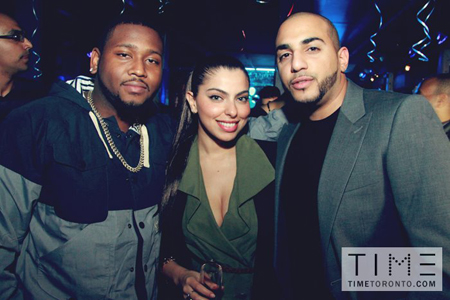 Photos: Boi-1da's 25th birthday party inside Toronto's TIME Nightclub