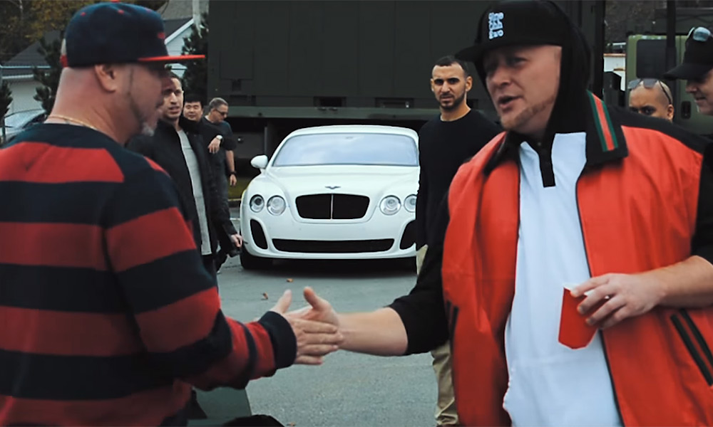 Til' The Wheels Fall Off: Halifax's Rude Dowg enlists Knotez, Miracle & Razkal for new video