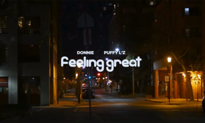 Donnie enlists King Bee to direct new Feeling Great video featuring Puffy L'z