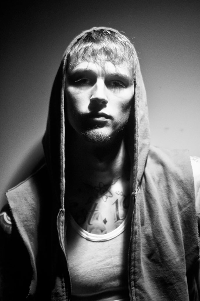 Machine Gun Kelly (aka MGK) by Jamie Sands