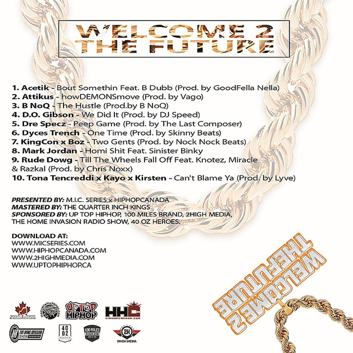 TopLeft Recordings presents Welcome 2 The Future Volume 2