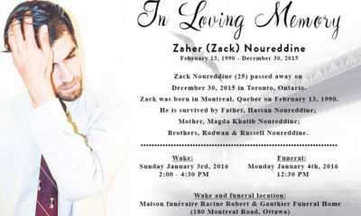 Zack Noureddine, HipHopCanada contributor and journalist killed in Toronto