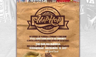 3rd Annual Hip-Hop Food Drive is Dec. 13 with EverythingOShauN, CVSS & more
