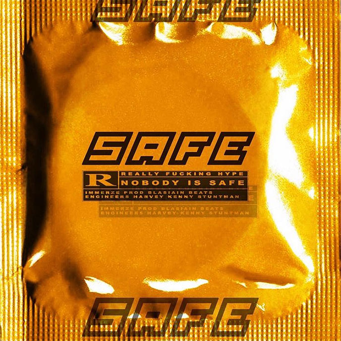 Immerze has some choice words for the competition on his new single SAFE