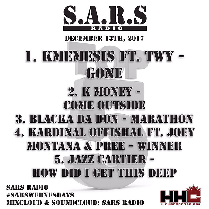 SARS Radio (with TRA & DJ Law): Episode 110