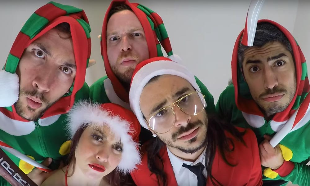 Montreal's trap-rock crossover group ERA 9 drop's Santa's Naughty List (XMAS Remix)