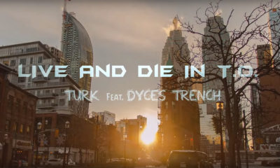 Turk returns with Live and Die in T.O. featuring Dyces Trench