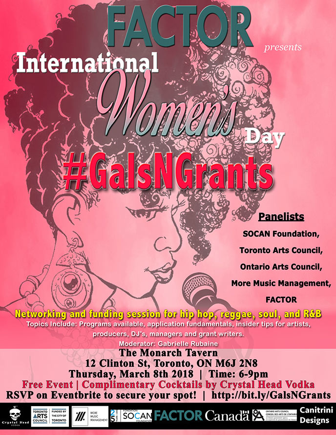 March 8: Celebrate International Women's Day with Gals n Grants