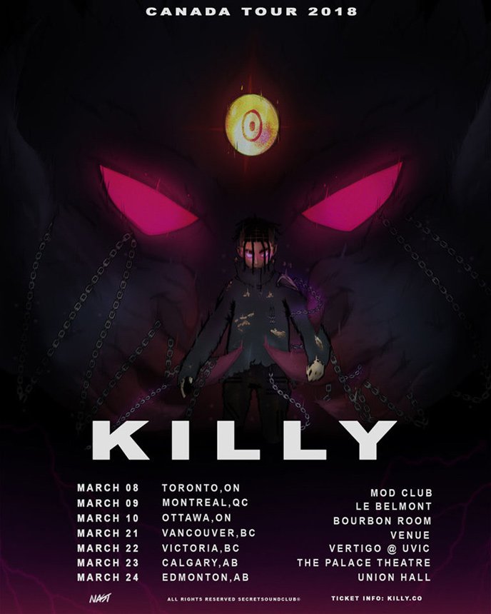 Killy on Tour: 7 Canadian dates this March