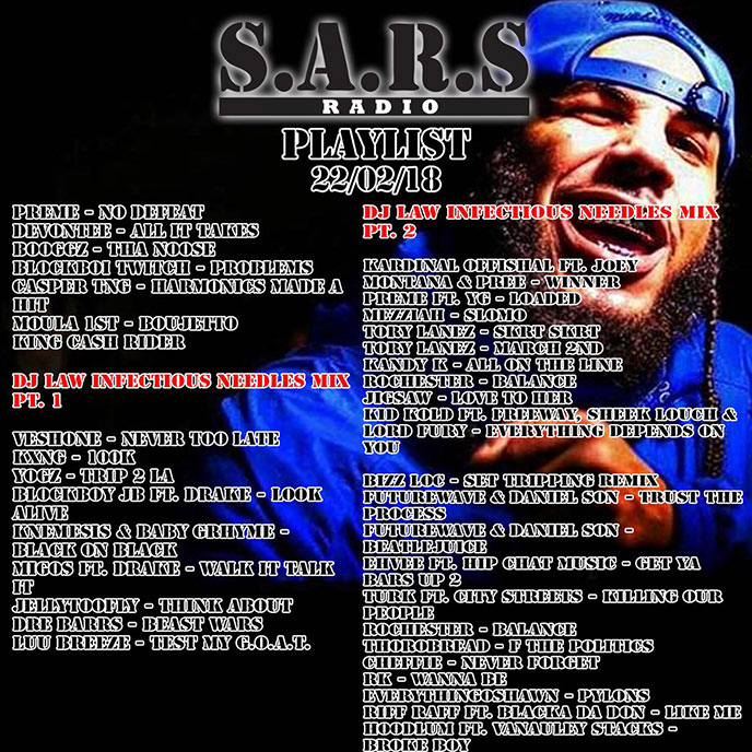 SARS Radio: Episode 114 sees God's Plan retain the No. 1 spot