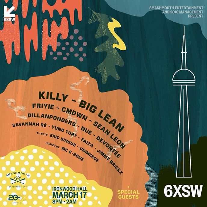 6XSW: Toronto talent to be showcased during SXSW on March 17