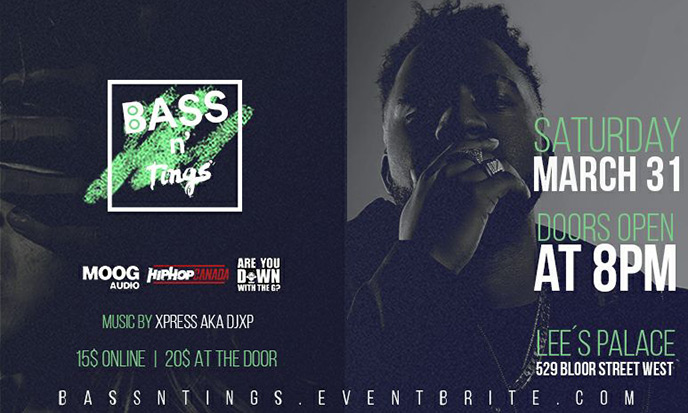 Lineup revealed for Bass N Tings III taking place Mar. 31