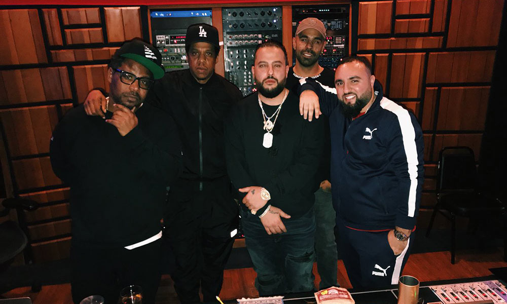 Belly hits the studio with JAY-Z