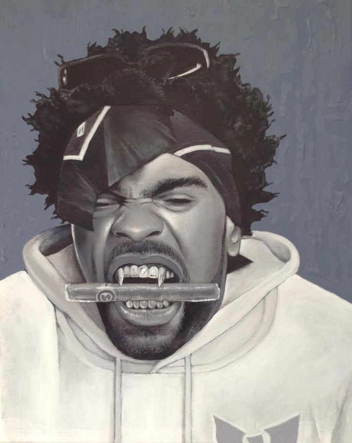 More than just a rapper: A look at portraits by Al Bender