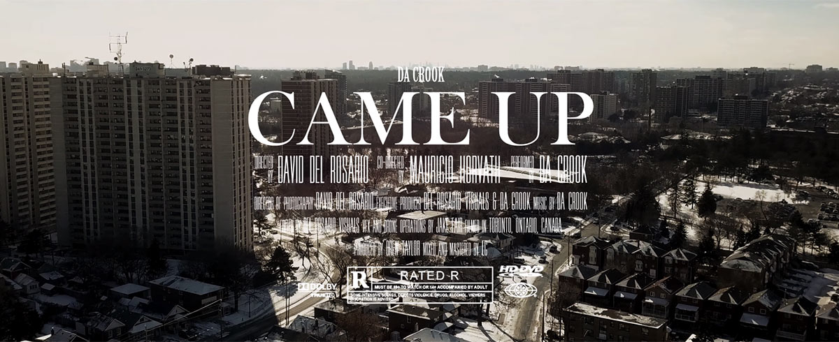 Check out the new Came Up video by Da Crook