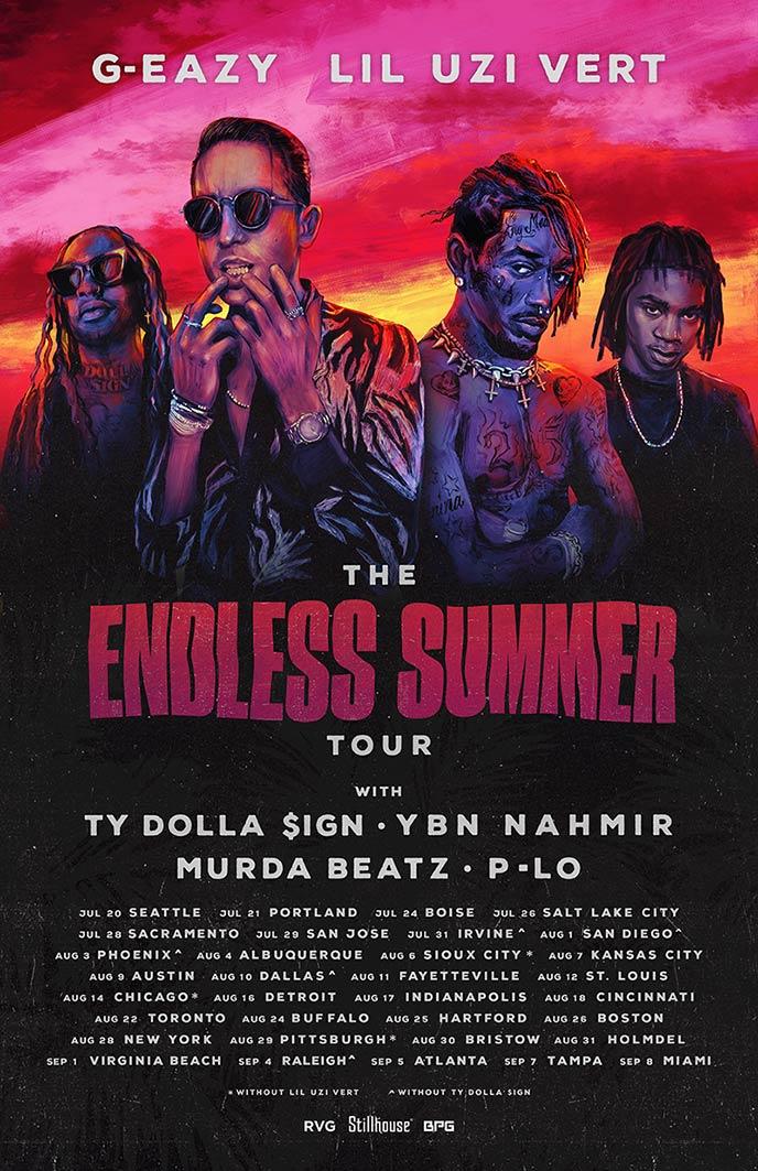 Murda Beatz added to G-Eazy tour