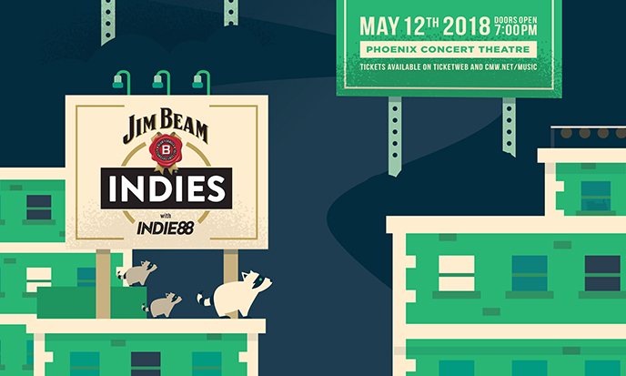 Last chance to submit nominations for Indies with Indie88
