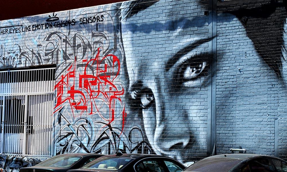 The best way to take in the LA graffiti scene