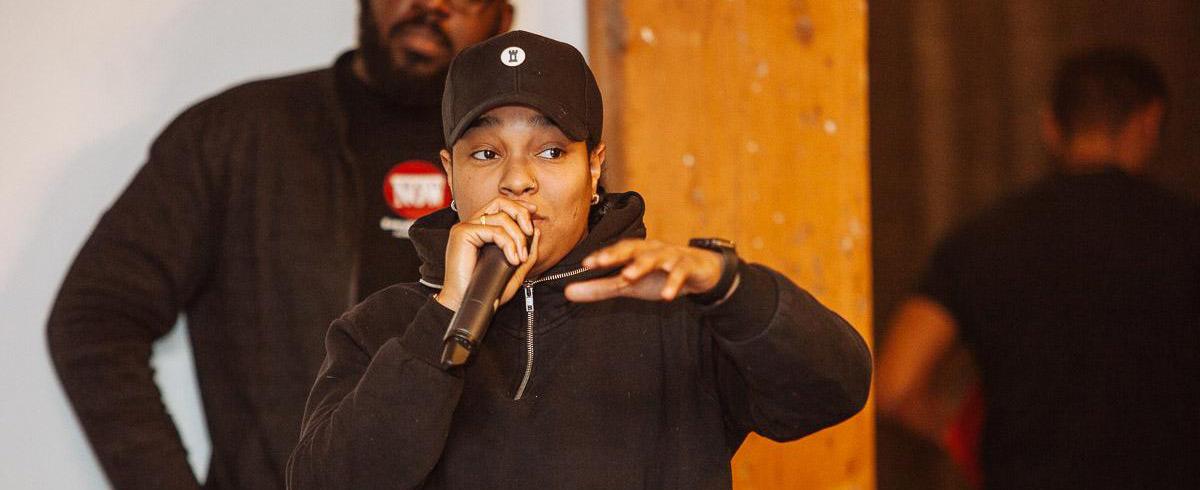Kiana Rookz Eastmond is breaking barriers in the Toronto scene
