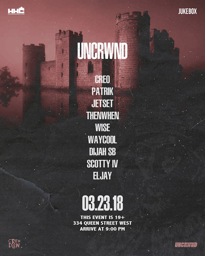 Lineup revealed for UNCRWND 7 going down Mar. 23