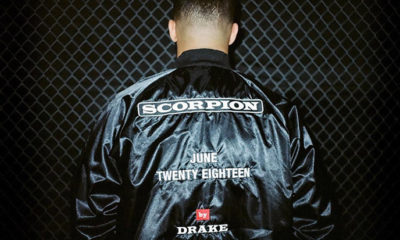 Drake reveals the release date for his next album Scorpion
