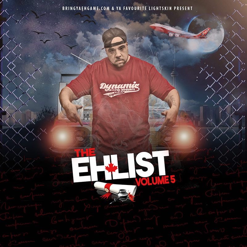 Bring Ya Eh Game reveals track listing and artwork for The Eh List Vol. 5