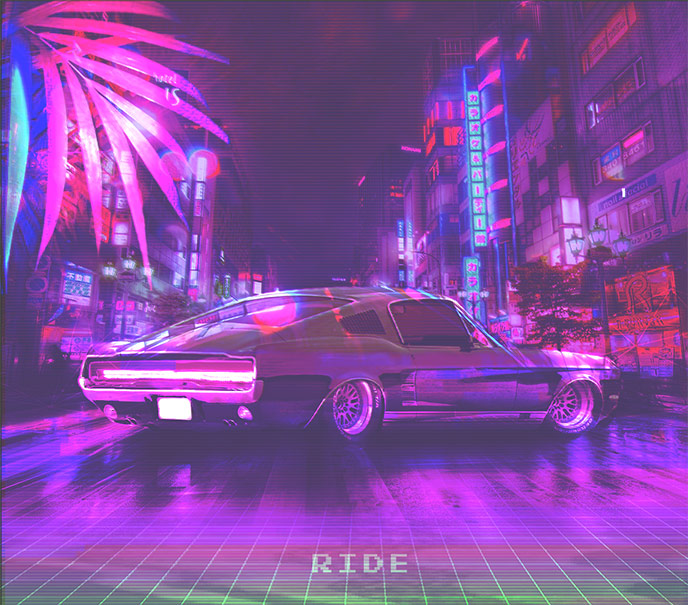 Montreal artist Gaby Harvey releases the Ride single