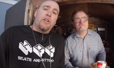 MrFinch and Knucklehead (T from TPB) drop the Trailer Park Song video