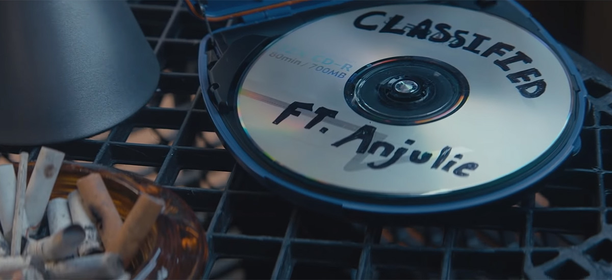 Classified drops 2 separate videos in support of Changes featuring Anjulie