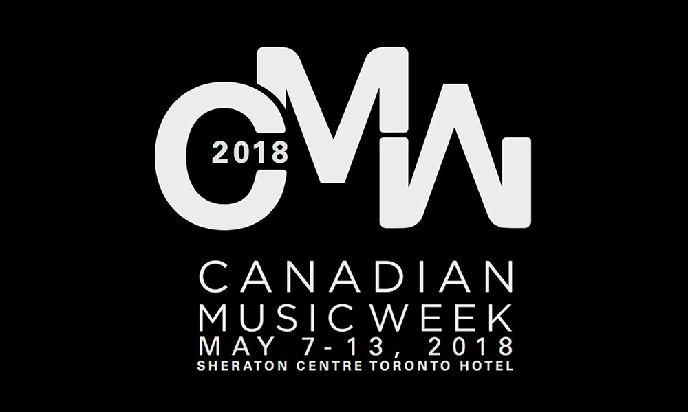 The 4-day Canadian Music Week Music Summit started today