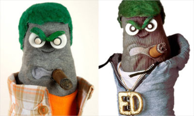Throwback Thursday: Ed the Sock tours Regent Park with Point Blank