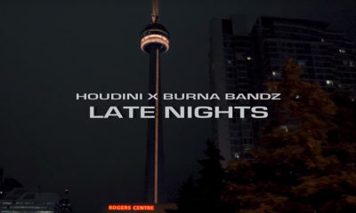 Toronto up-and-comers Houdin and Burna Bandz drop the Late Nights video