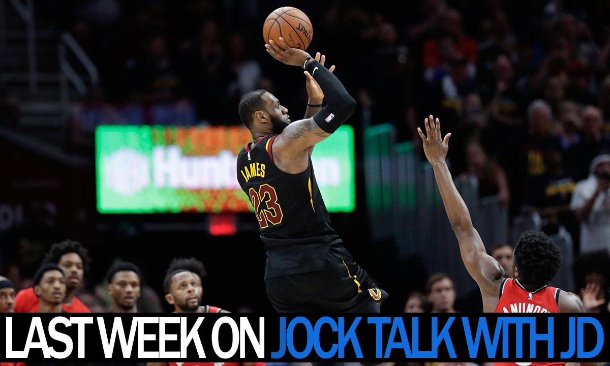 Jock Talk with JD: Paxson throws a no-no, Casey gets sacked, Jets keep soaring and more