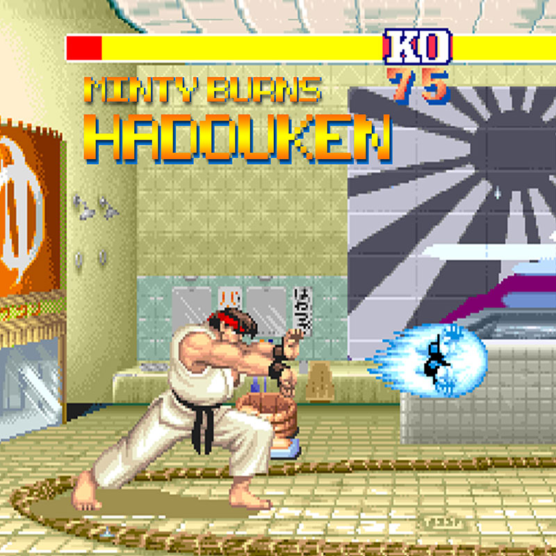 Song of the Day: Minty Burns channels his inner-Ryu with Hadouken