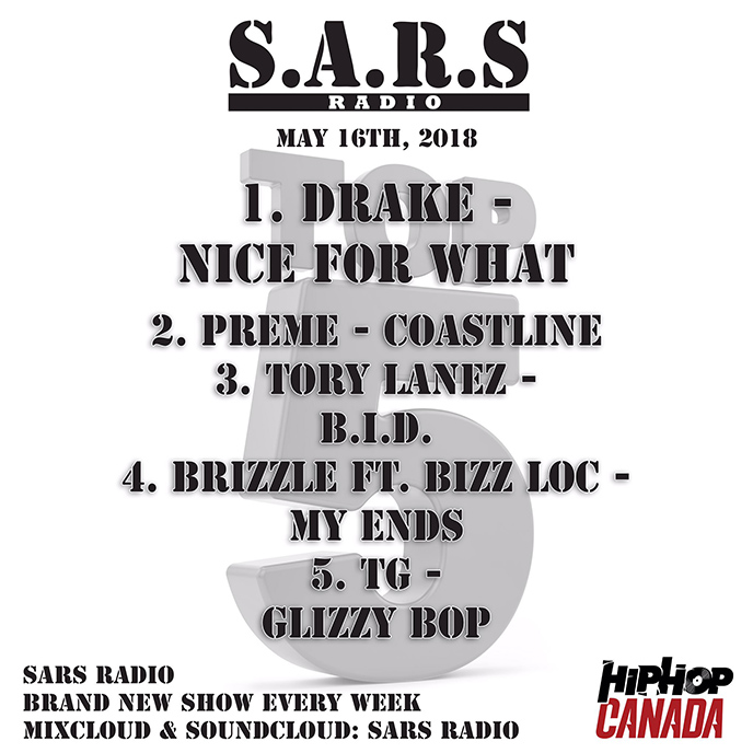 Preme takes over the No. 1 spot on the latest episode of SARS Radio (Ep. 126)