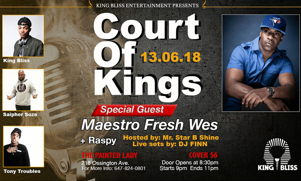 June 13: Court of Kings to feature King Bliss, Saipher Soze and more