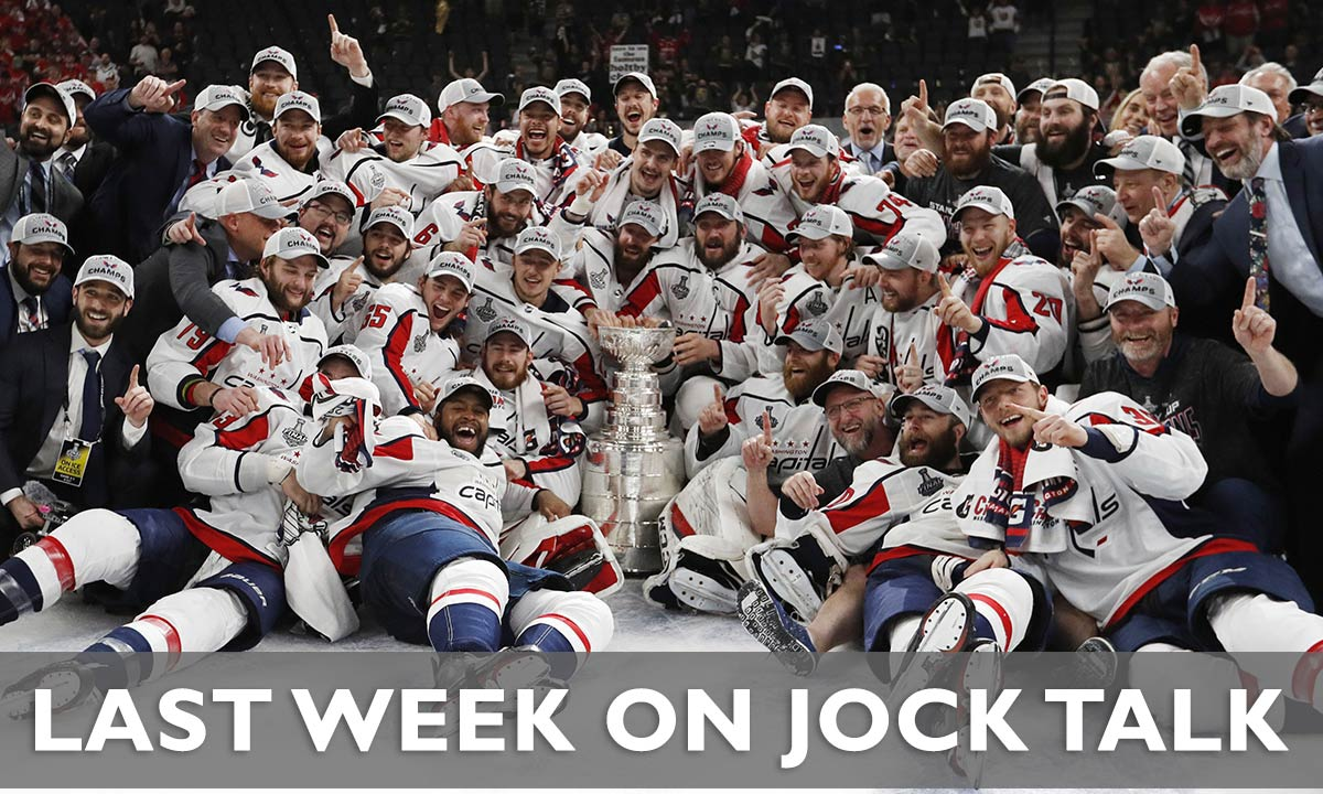 Jock Talk with JD: Marlies are champs, Blue Jays sweep, World Cup, JAY-Z and more