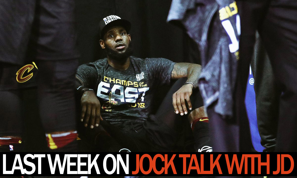 Jock Talk with JD: Warriors too much, Capitals inch closer, Jim Kelly and more