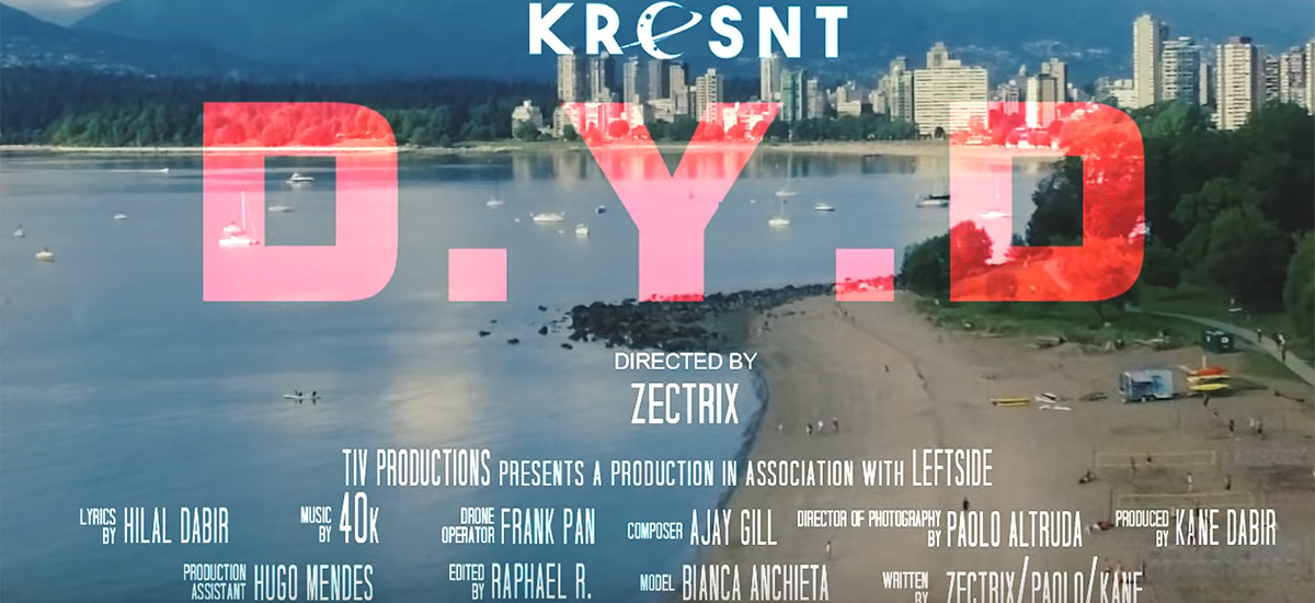 Kresnt continues EP campaign with D.Y.D video