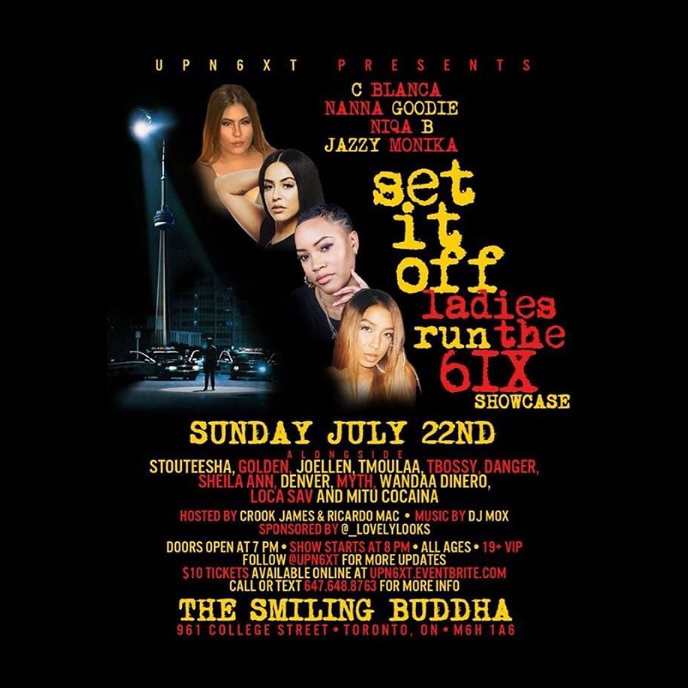 Set It Off: C Blanca, Nanna Goodie and more to perform in Toronto on July 22