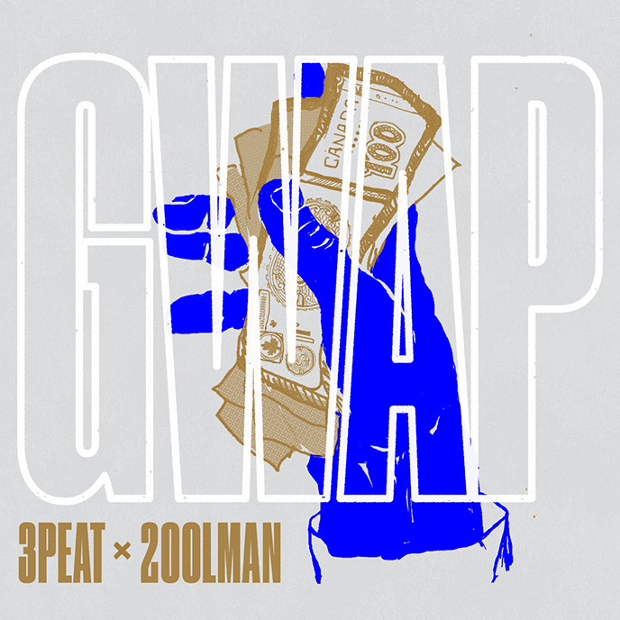 Winnipeg trio 3PEAT drop the 2oolman-produced single GWAP