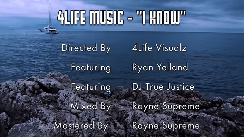 4Life Music releases I Know featuring Ryan Yelland and DJ True Justice
