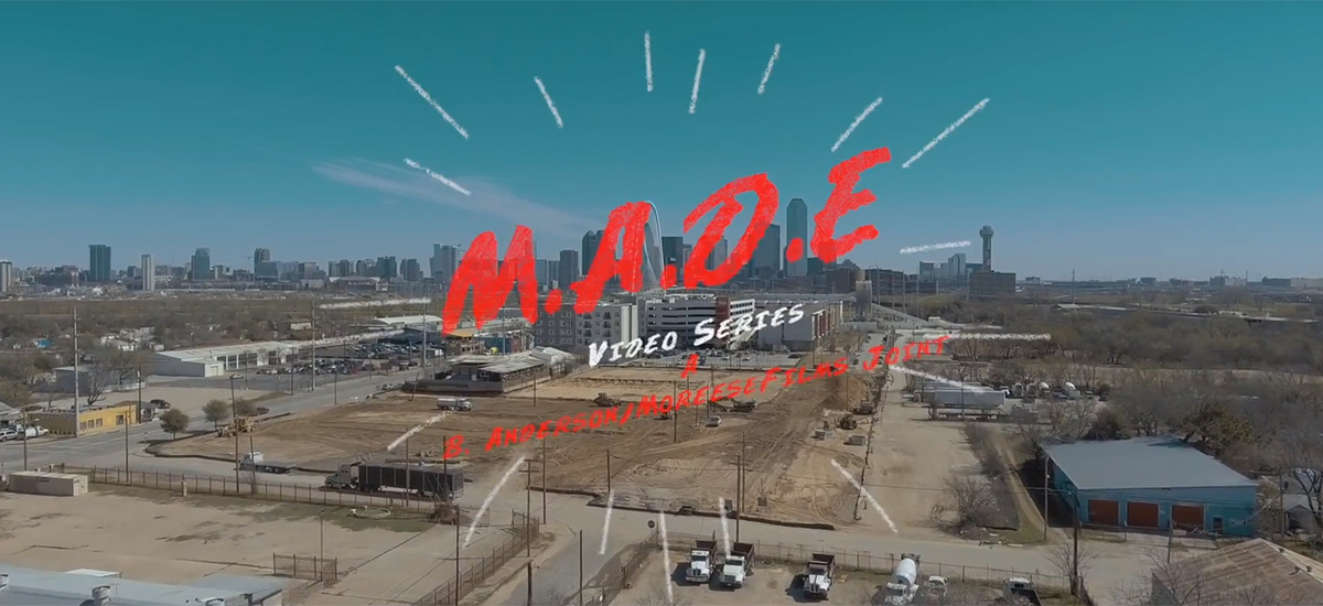 B.Anderson wraps up impressive first season of M.A.D.E: The Video Series