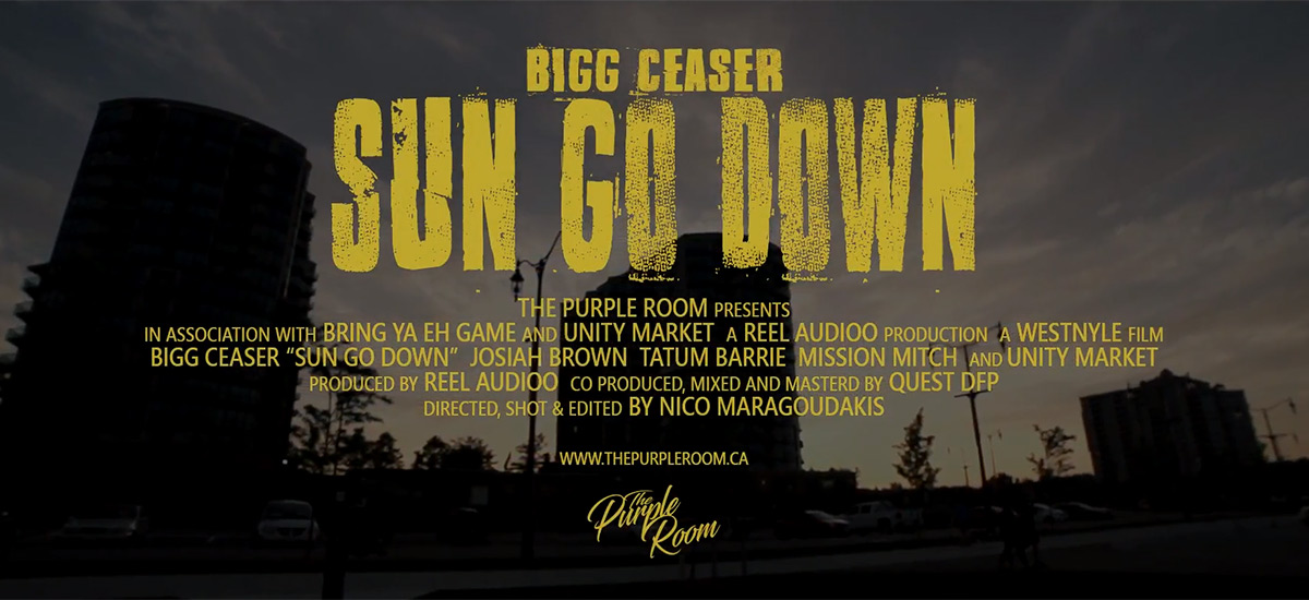 Bigg Ceaser enlists Westnyle to direct Sun Go Down