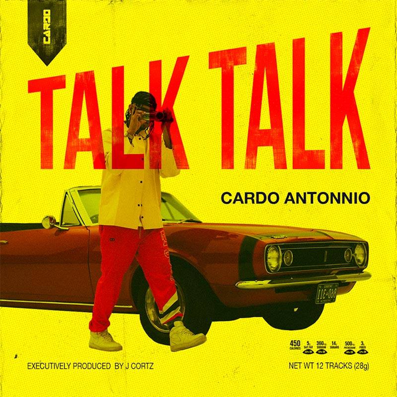 Cardo Antonnio releases full-length debut TALK TALK