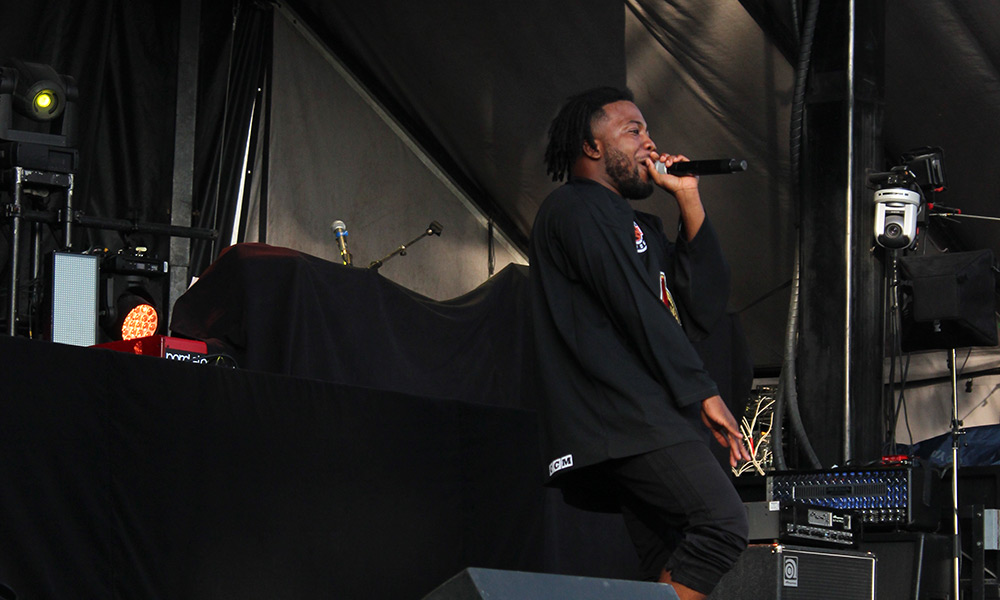 Bluesfest Day 5 featured Roland Prince, City Fidelia, MGK and more