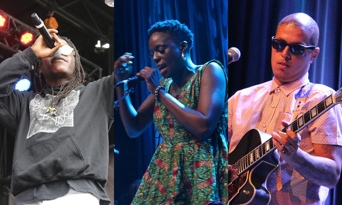 Bluesfest Day 7 featured Black Iri$h, Aspects, Rita Carter and more